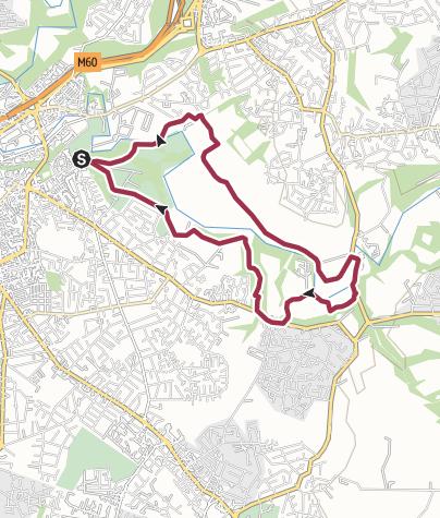Map / Woodbank Pk - Bongs Rd - Poise Brook (6miles)