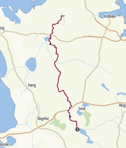 Map / Kongskilde - Svinninge (Jyderupstien) 2017