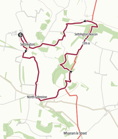 Map / Settrington Round