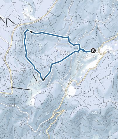 Map / Raquette au-dessus du Hohwald