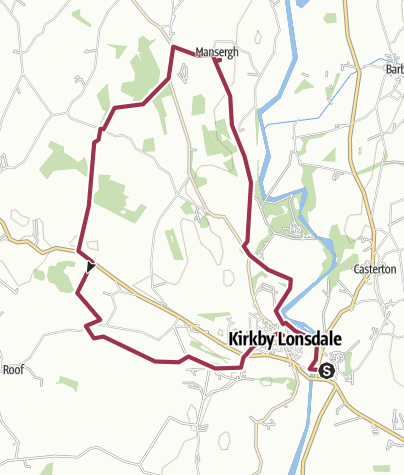 Map / Kirby Lonsdale 01 December 2019