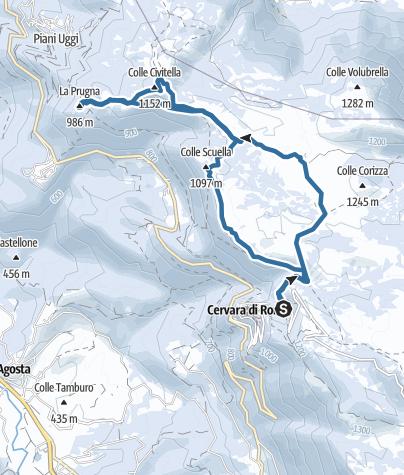 Map / Traccia 14 gen 2021