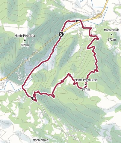 Map / Monte Paganuccio