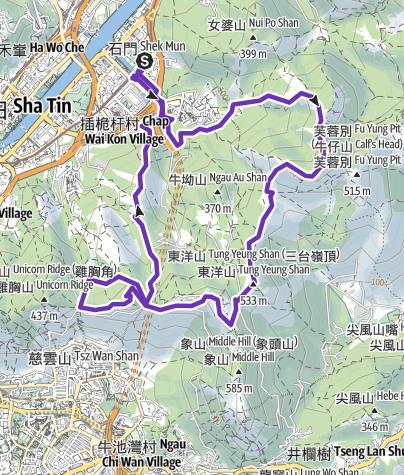 Map / RunDaruma Cow Run