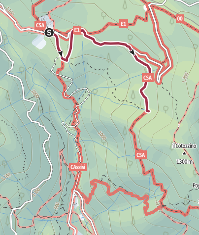 Map / Ciaspole Camaldoli IQ
