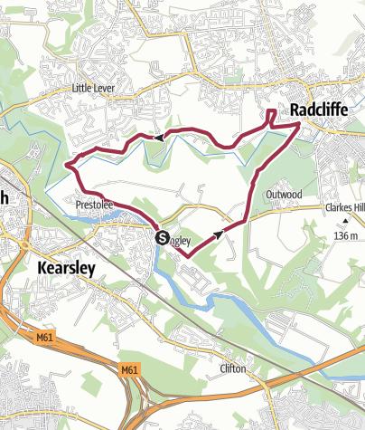 Map / Manchester, Bolton and Bury canal circular