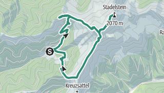 Map / Kragelschinken, Stadelstein, Wildfeld und Grabnerspitze aus der Teichen