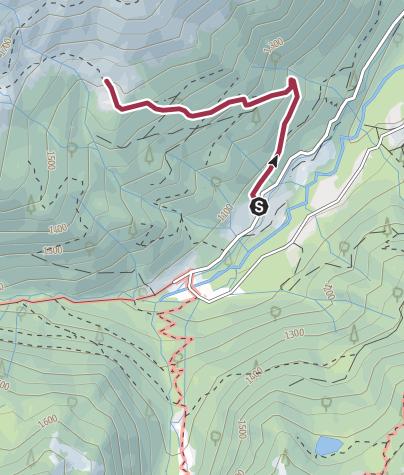 Map / Les cabanes de la Lit