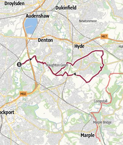 Map / Reddish Vale to Werneth Low circular.gpx
