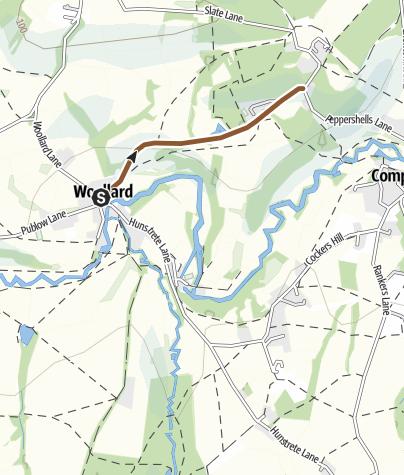 Map / Smallbrook Lane, Compton Dando 49156
