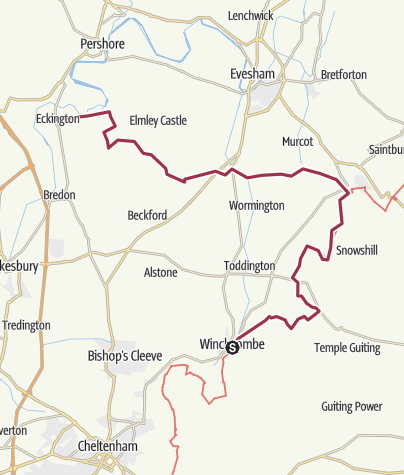 Map / Across the cotswolds