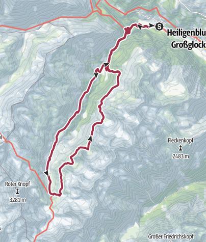 Map / Rundtour im Gößnitztal