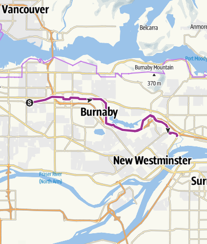 Map / Canada Green Way