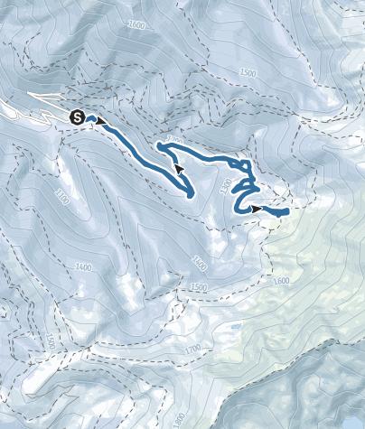 Map / Hameaux de Goutets