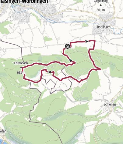Karte / Hegauer Kegelspiel: Albertine Steig