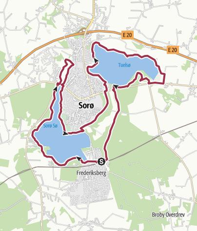 Map / Sorø 3 søer