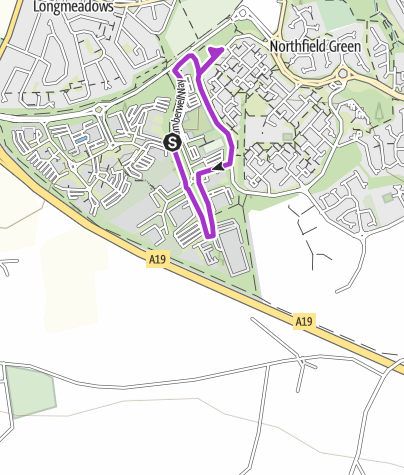 Map / Doxford Park 2km (321 series)