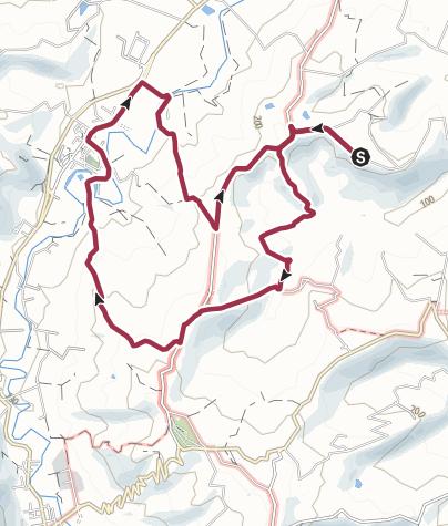 Map / LA SCAGNA - FIUMANA - CONDE' - LA SCAGNA