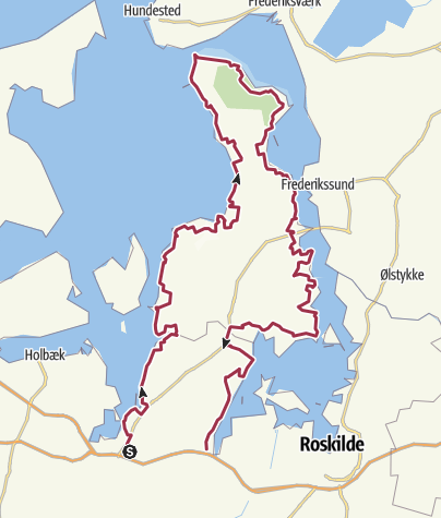 Map / Fjordstien, Kirke Sonnerup-Kyndby-Uglestrup, 2016