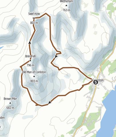 Map / Coniston round