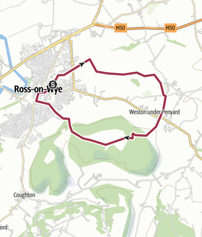Map / Ross on Wye