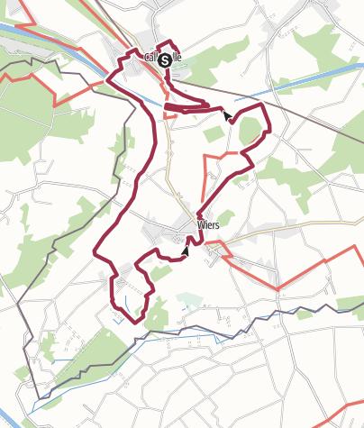 Map / 15 km à Callenelle