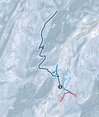 Map / RQ Charmant Som depuis col de Porte