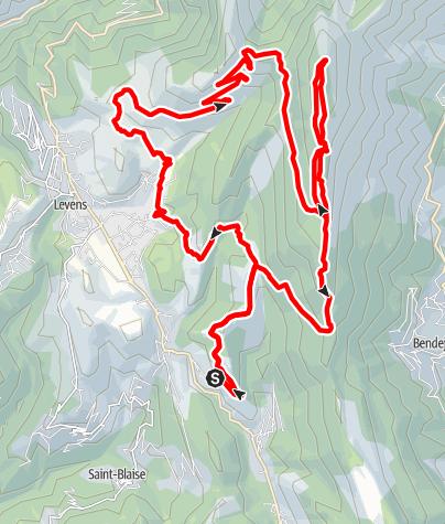 Map / Mont Férion