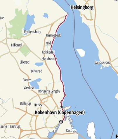 Map / København-Helsingør, 2017