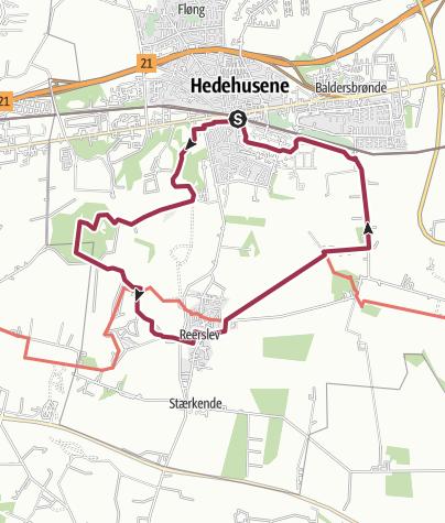 Map / Hedehusene