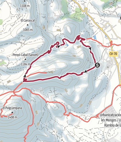 Map / PONOIGH CIRCUIT - POLOP