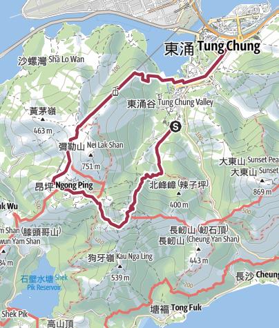 Map / 石門-鳳凰山-昂平360