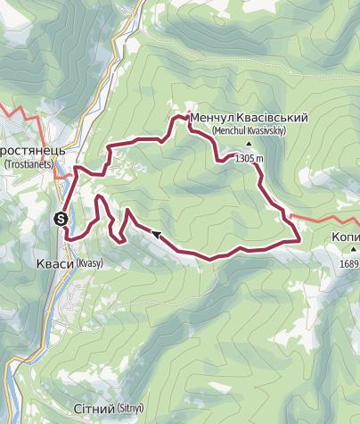 Map / траверс Шешула