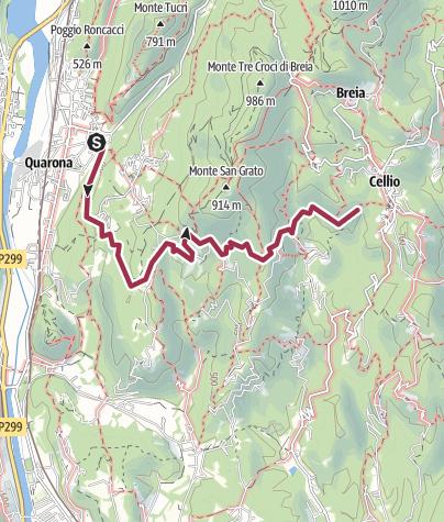 Map / 738 Quarona Cellio