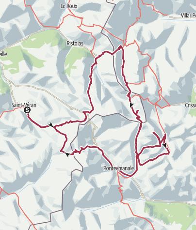 Map / Tour du Queyras 6 jours