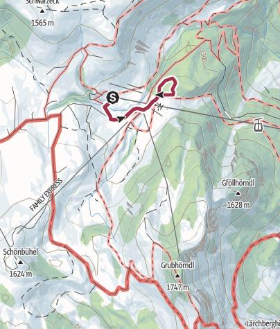 Karte / Soderkaser - Almsee Runde