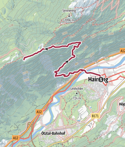 Map / Haiminger Alm