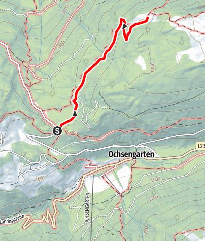 Karte / Feldring Alm