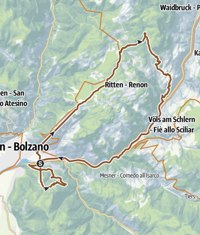 Map / Zweigondel Tour