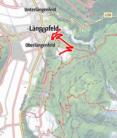 Karte / Brandalm - Längenfeld