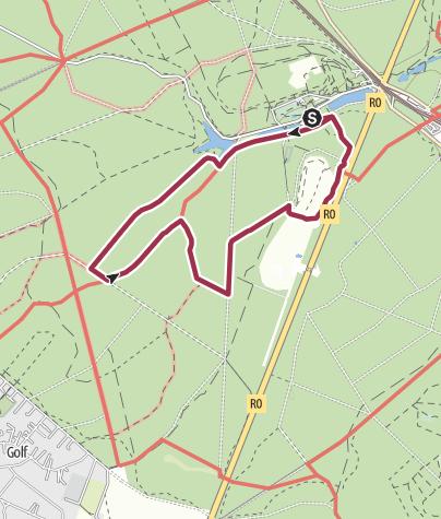 Map / Groenendael - 6,88 km