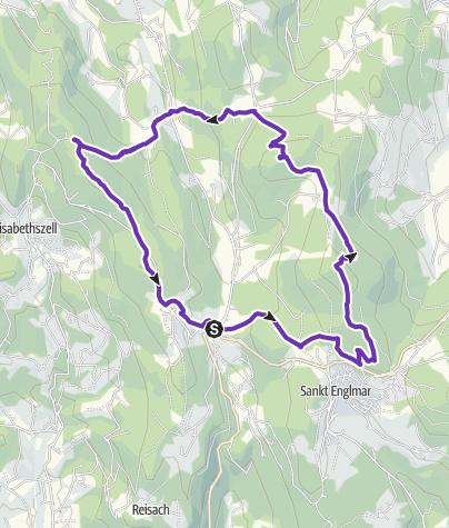Map / #laufenimgrenzbereich2021 Wirtshausrunde