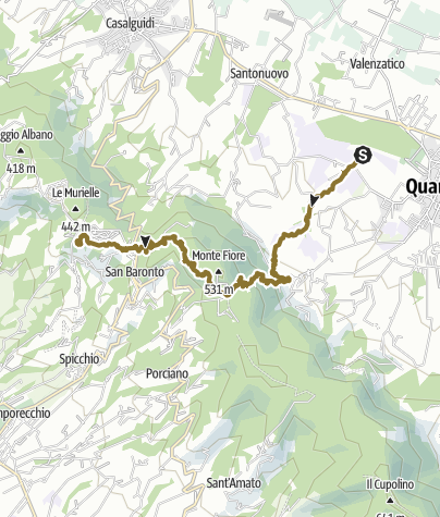Map / Quarrata - San Baronto