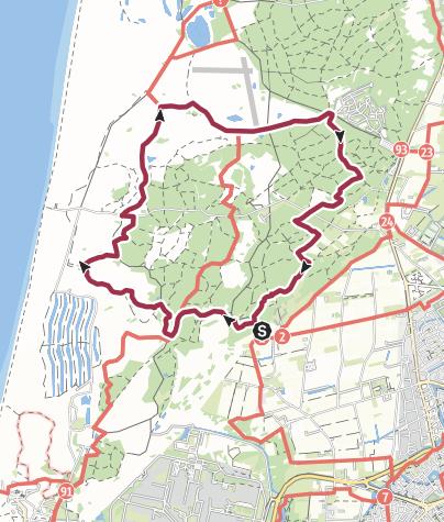 Map / berenweide 10K