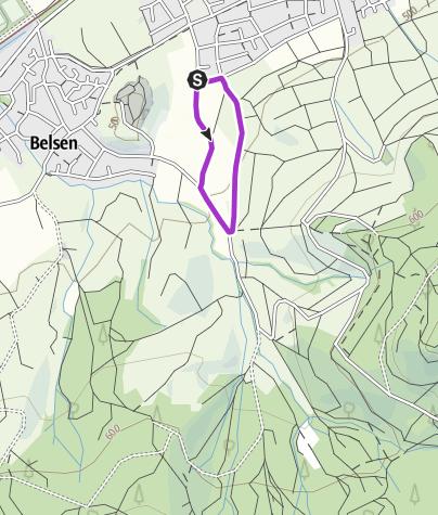 Map / 17. LOTTO-Lauf 2021 - 1,6km