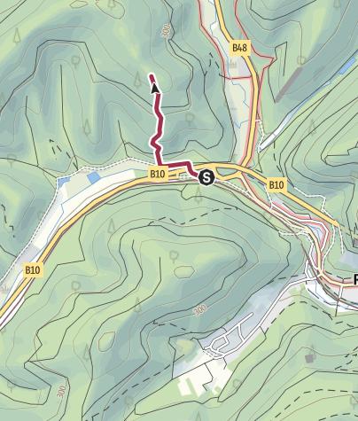Karte / Zustieg - Göckelsbergkopf