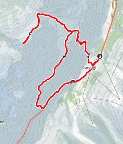 Karte / Zirmkogel