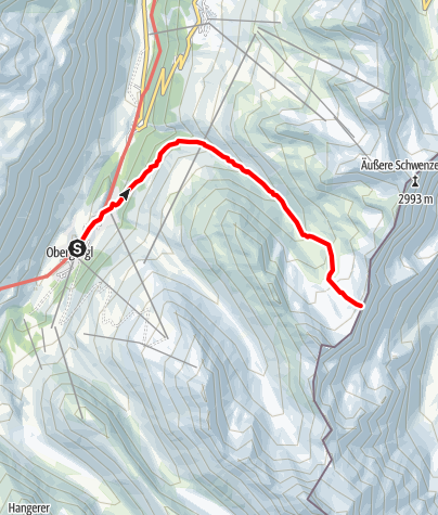 Map / Königsjoch