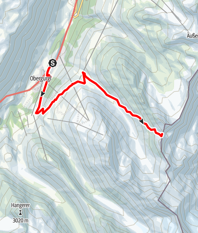 Map / Aperes Ferwalljoch