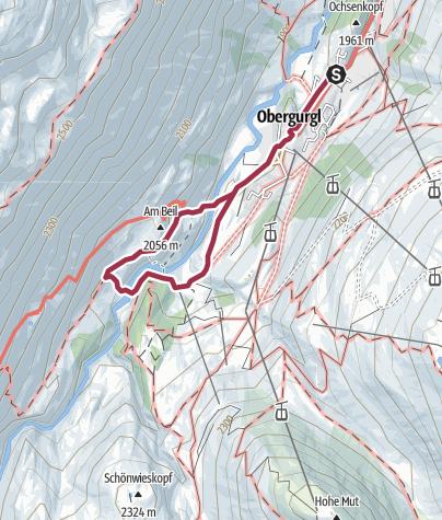 Map / Zirbenforrestbridge